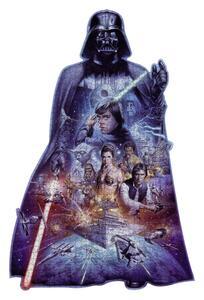 Puzzle Silhouette Darth Vader - 3