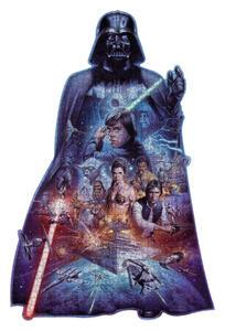 Puzzle Silhouette Darth Vader - 4