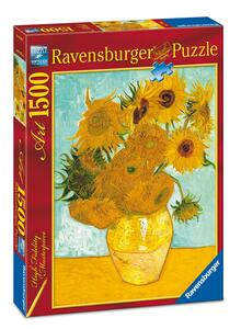 Van Gogh: Vaso con girasoli Puzzle 1500 pezzi Ravensburger (16206)