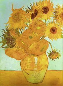 Van Gogh: Vaso con girasoli Puzzle 1500 pezzi Ravensburger (16206) - 4
