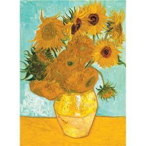 Van Gogh: Vaso con girasoli Puzzle 1500 pezzi Ravensburger (16206) - 7
