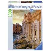 Giocattolo Puzzle 1500 pezzi Roma Fontana di Trevi Ravensburger