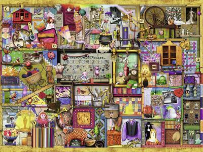Colin Thompson: Scaffale da bricolage Puzzle 1500 pezzi Ravensburger (16312) - 3