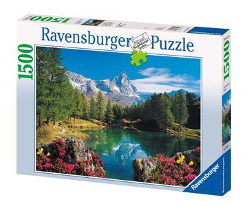Lago Alpino con Cervino Puzzle 1500 pezzi Ravensburger (16341) - 2