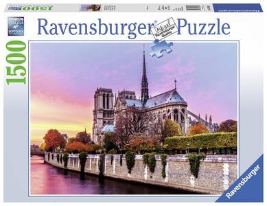 Notre Dame al tramonto Puzzle 1500 pezzi Ravensburger (16345)