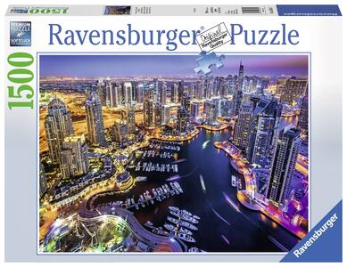 Dubai Nel Golfo Persico Puzzle 1500 pezzi Ravensburger (16355)