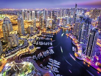 Dubai Nel Golfo Persico Puzzle 1500 pezzi Ravensburger (16355) - 2