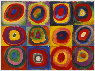 Giocattolo Puzzle Kandinsky: Studio sul colore Ravensburger 1
