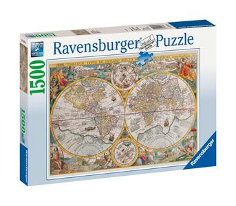 Mappamondo storico Puzzle 1500 pezzi Ravensburger (16381) - 2