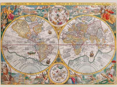 Mappamondo storico Puzzle 1500 pezzi Ravensburger (16381) - 4