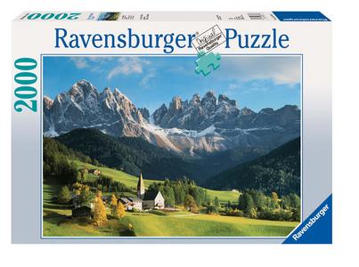 Giocattolo Puzzle 2000 pezzi Dolomiti Ravensburger 0