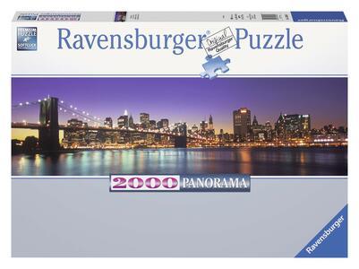 Skyline di New York Panorama Puzzle 2000 pezzi Ravensburger (16694)