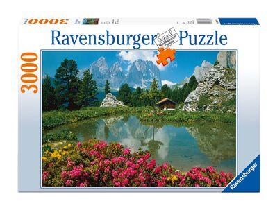 Giocattolo Puzzle 3000 pezzi Dolomiti Passo Sella Ravensburger 0