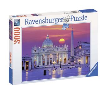 Giocattolo Puzzle 3000 pezzi Basilica di San Pietro Ravensburger 0