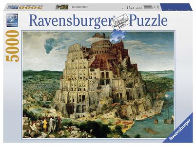 Brueghel: La torre di Babele Puzzle 5000 pezzi Ravensburger (17423)