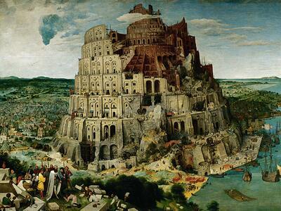 Brueghel: La torre di Babele Puzzle 5000 pezzi Ravensburger (17423) - 3