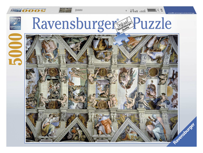 Giocattolo Puzzle 5000 pezzi Michelangelo Buonarroti La Cappella Sistina Ravensburger 0