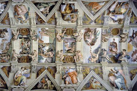 Giocattolo Puzzle 5000 pezzi Michelangelo Buonarroti La Cappella Sistina Ravensburger 1