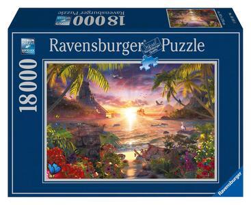 Tramonto Paradisiaco Puzzle 18000 pezzi Ravensburger (17824) - 6