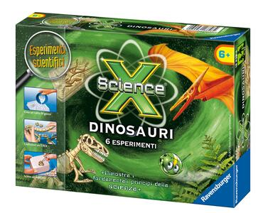 Science X Dinosauri Gioco Scientifico Ravensburger (18828) - 2