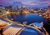 Giocattolo Puzzle 1000 pezzi Skyline di Singapore Ravensburger 1