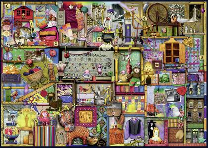 The Craft cupboard Puzzle 1000 pezzi Ravensburger (19412) - 3