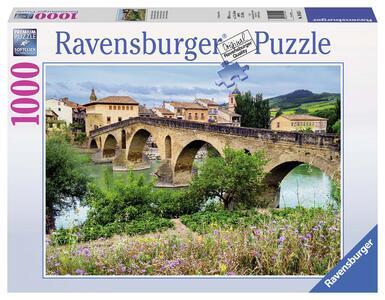 Puente La Reina,Spagna Puzzle 1000 pezzi Ravensburger (19425)