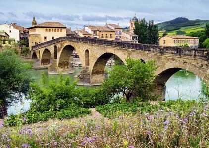 Puente La Reina,Spagna Puzzle 1000 pezzi Ravensburger (19425) - 3
