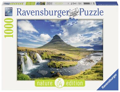Giocattolo Puzzle 1000 pezzi Cascate Kirkjufell Ravensburger 0