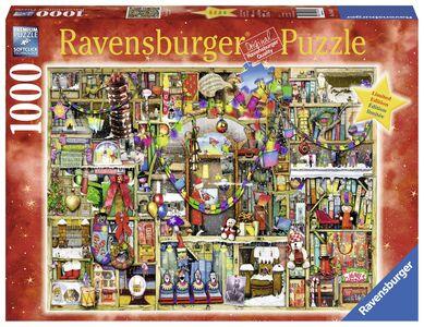 Giocattolo Ravensburger 19561. Puzzle 1000 Pz. Fantasy. La Credenza Natalizia Ravensburger