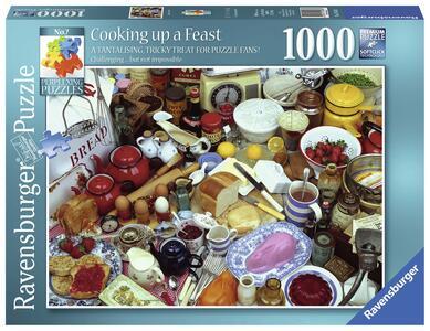 Colazione Puzzle 1000 pezzi Ravensburger (19583) - 2