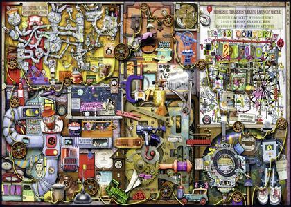 Colin Thompson Puzzle 1000 pezzi Ravensburger (19597) - 4