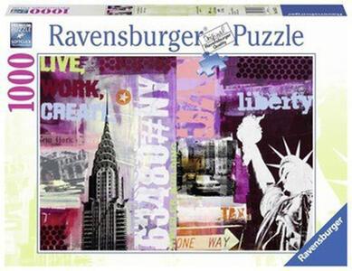 Collage New York City Puzzle 1000 pezzi Ravensburger (19613) - 2