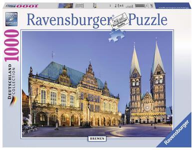 Vista sul municipio, Brema Puzzle 1000 pezzi Ravensburger (19622) - 2