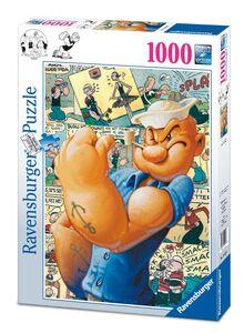 Giocattolo Puzzle 1000 pezzi Fantasy. Popeye a Fumetti Ravensburger