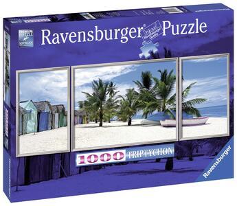 Isola di Saona, Caraibi Panorama Puzzle 1000 pezzi Ravensburger (19646) - 3