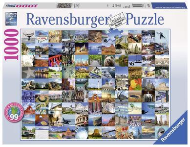 99 Beautiful Places USA/Canada Puzzle 1000 pezzi Ravensburger (19709) - 4