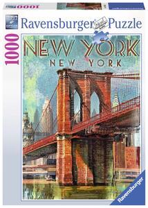 Retro New York Puzzle 1000 pezzi Ravensburger (19835)