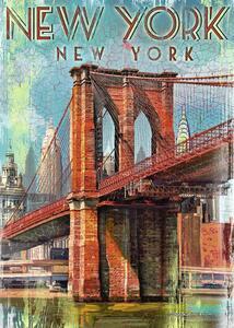 Retro New York Puzzle 1000 pezzi Ravensburger (19835) - 2