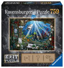 Sottomarino Ravensburger Puzzle 759 pz - Escape the Puzzle