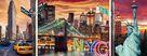 Giocattolo Puzzle Trittico Sparkling New York Ravensburger 1