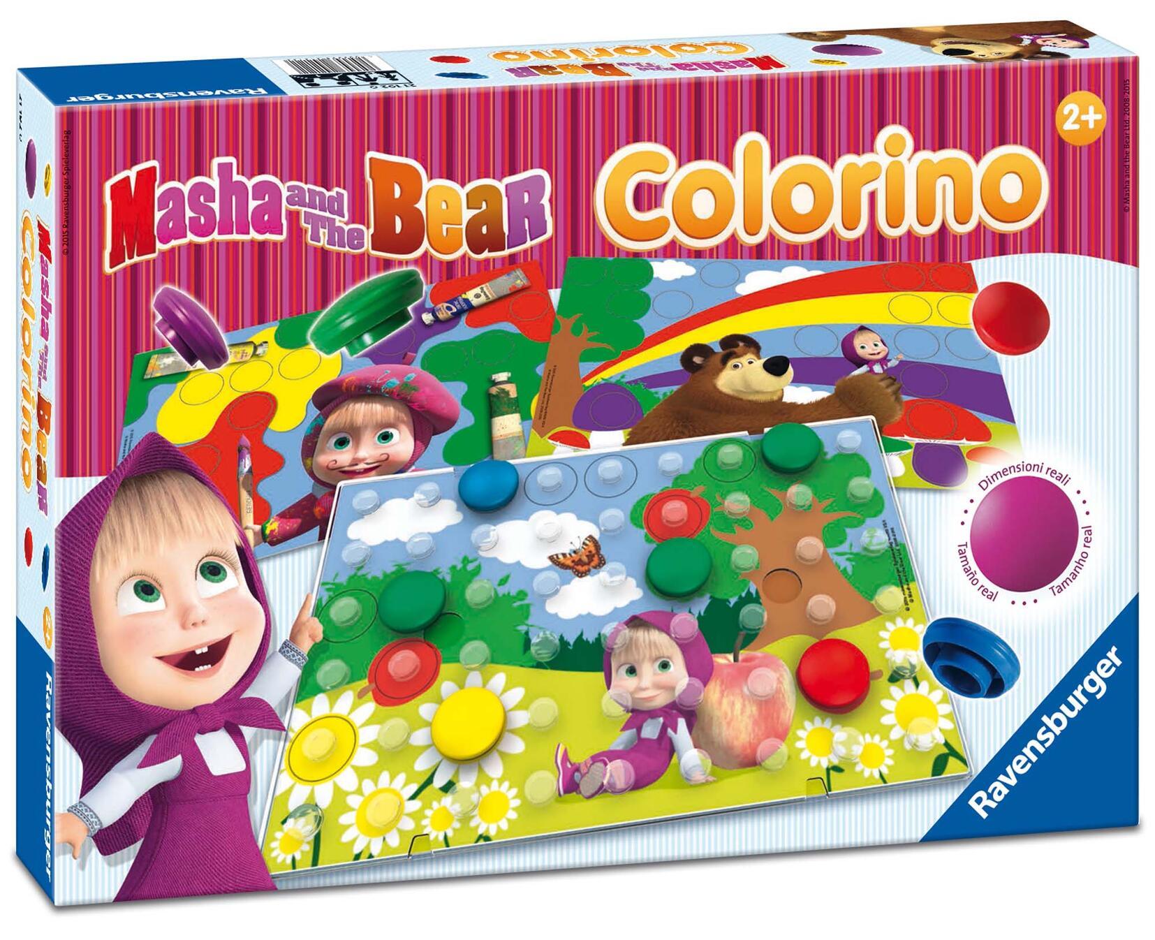 Giochi educativi colorino masha ravensburger educativi for Masha giocattolo