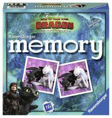 Ravensburger memory® zum neuen Kinofilm Drachenzähmen leicht gemacht 3: Die geheime Welt 1