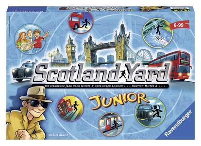 Scotland Yard Junior Gioco di società Ravensburger (22289) - 10