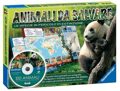 Animali da salvare + CD gioco educativo - 2