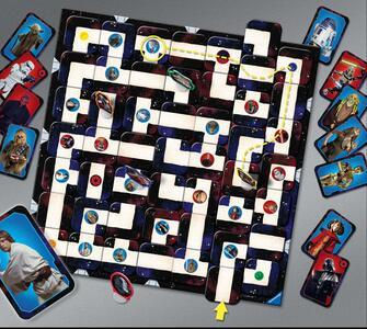 Labirinto Star Wars Giochi di società Ravensburger (26666) - 11