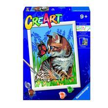 CreArt Serie D. Gattino e farfalla
