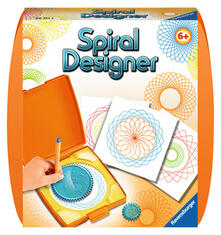 Spiral-Designer. Orange. Ravensburger 29711 spirografo per bambini