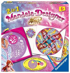 Foto di 2 in 1 Mandala Designer Winx Club, Giochi e giocattoli