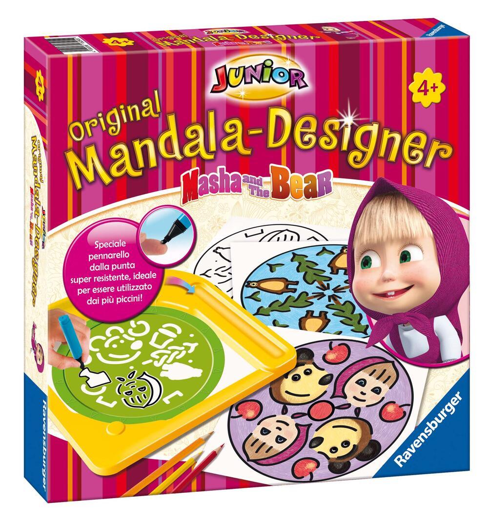 Mandala designer junior mandala masha e orso for Masha giocattolo